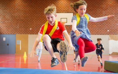 Bewegungsspiele für Mädchen und Jungen von 5-6 Jahre | Weiherhof Schule