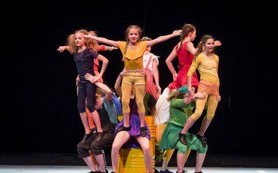 Akrobatik für Mädchen II (7-11 Jahre)