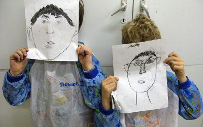 Kinder Kunst-Werkstatt für Kreative