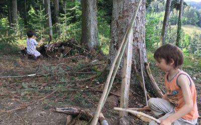 Neu   Kunst-Abenteuer im Wald