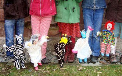 Marionetten erfinden und bauen | Dienstag