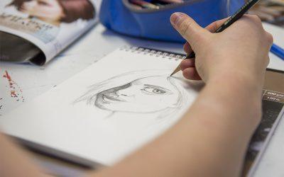 Malen und Zeichnen intensiv