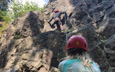 Kletterworkshop für Jugendliche