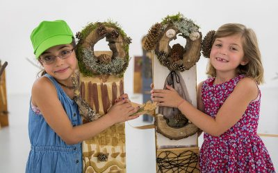 Familien Kunstsonntag – Waldgeister