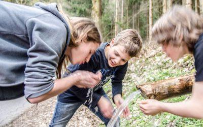 Outdoor-Gruppe für Jungs